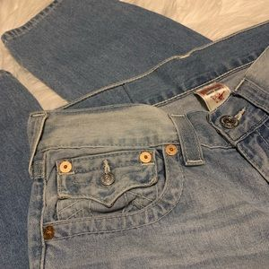 True Religion Basic Skinny Jeans with Flaps